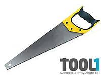 Ножовка по дереву 450 мм 3-ая заточка 7 зуб.*1 Housetools 10K402