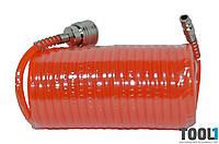 Шланг спиральный РЕ 5.5*8 мм, 10 м Housetools 80K173