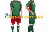 Комплект формы Joma Champion III (зелено-красная)