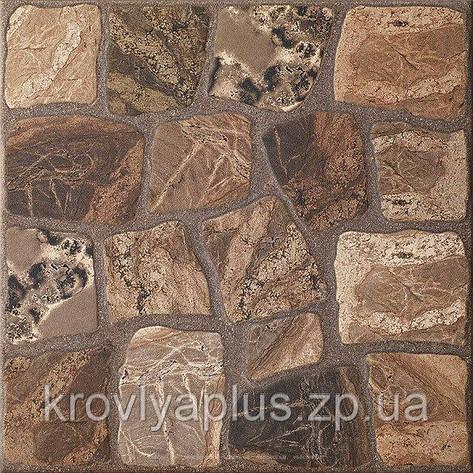 Напольный кафель  Керамогранит Памир коричневый / Pamir brown, фото 2