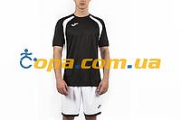 Футбольная форма Joma Champion lll (футболка+шорты) черная