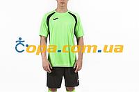 Футбольная форма Joma Champion lll (футболка+шорты) салатовая