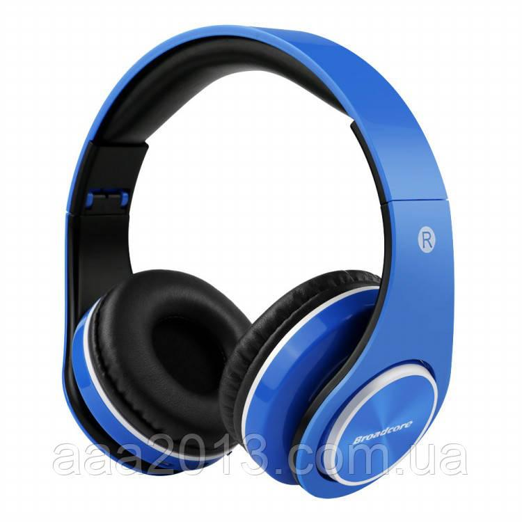 Наушники Bluetooth LPT660 с эквалайзером, ГАРНИТУРА+MP3+FM+3.5 джек