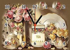 Часы настенные стеклянные Т-Ок 002 SG-2503506
