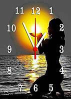 Часы настенные стеклянные Т-Ок 002 SG-25035016