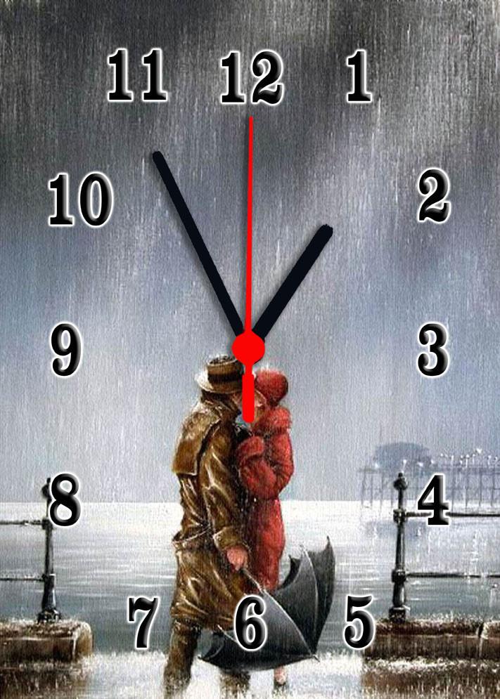 Часы настенные стеклянные Т-Ок 002 SG-25035017