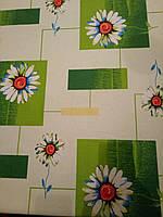 Ткань фланель для постельного белья ш.150 см Ромашки