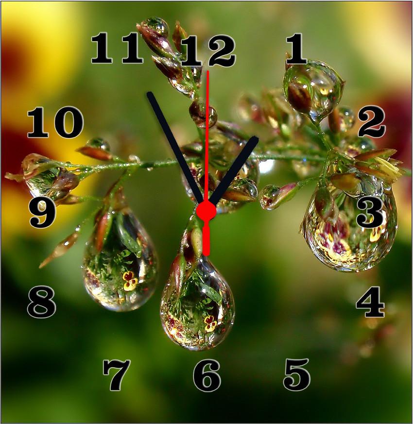 Часы настенные стеклянные Т-Ок 003 S-3005