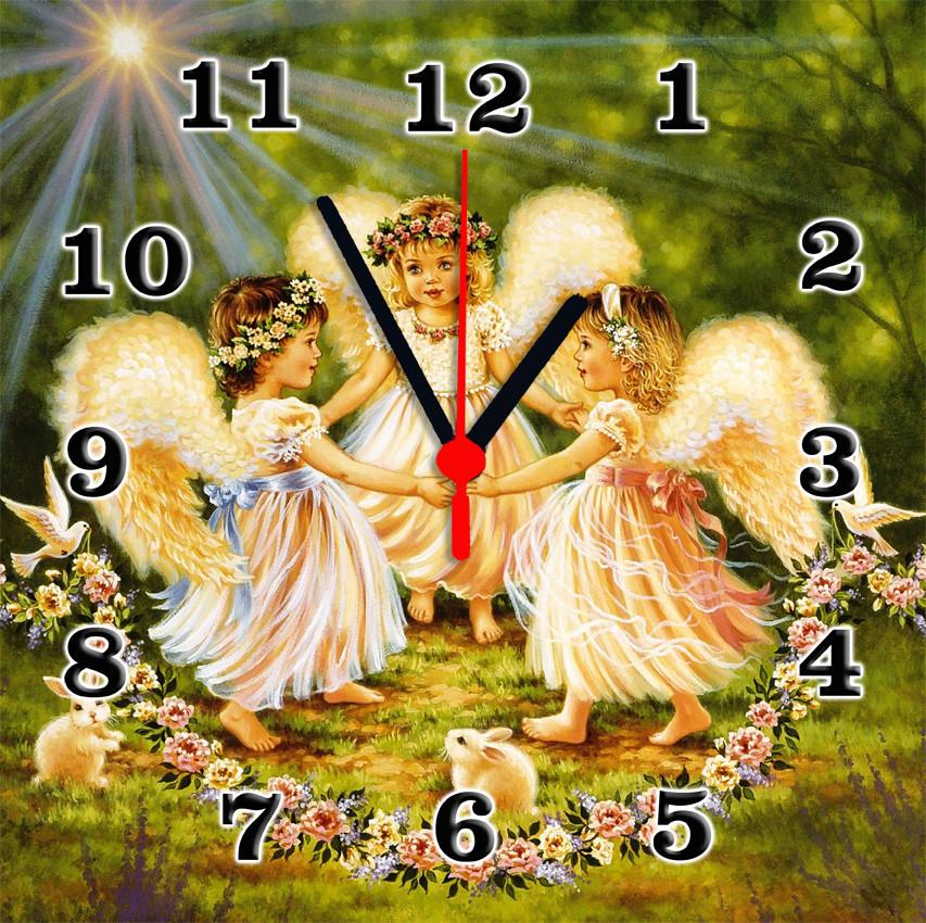 Часы настенные стеклянные Т-Ок 003 S-3009