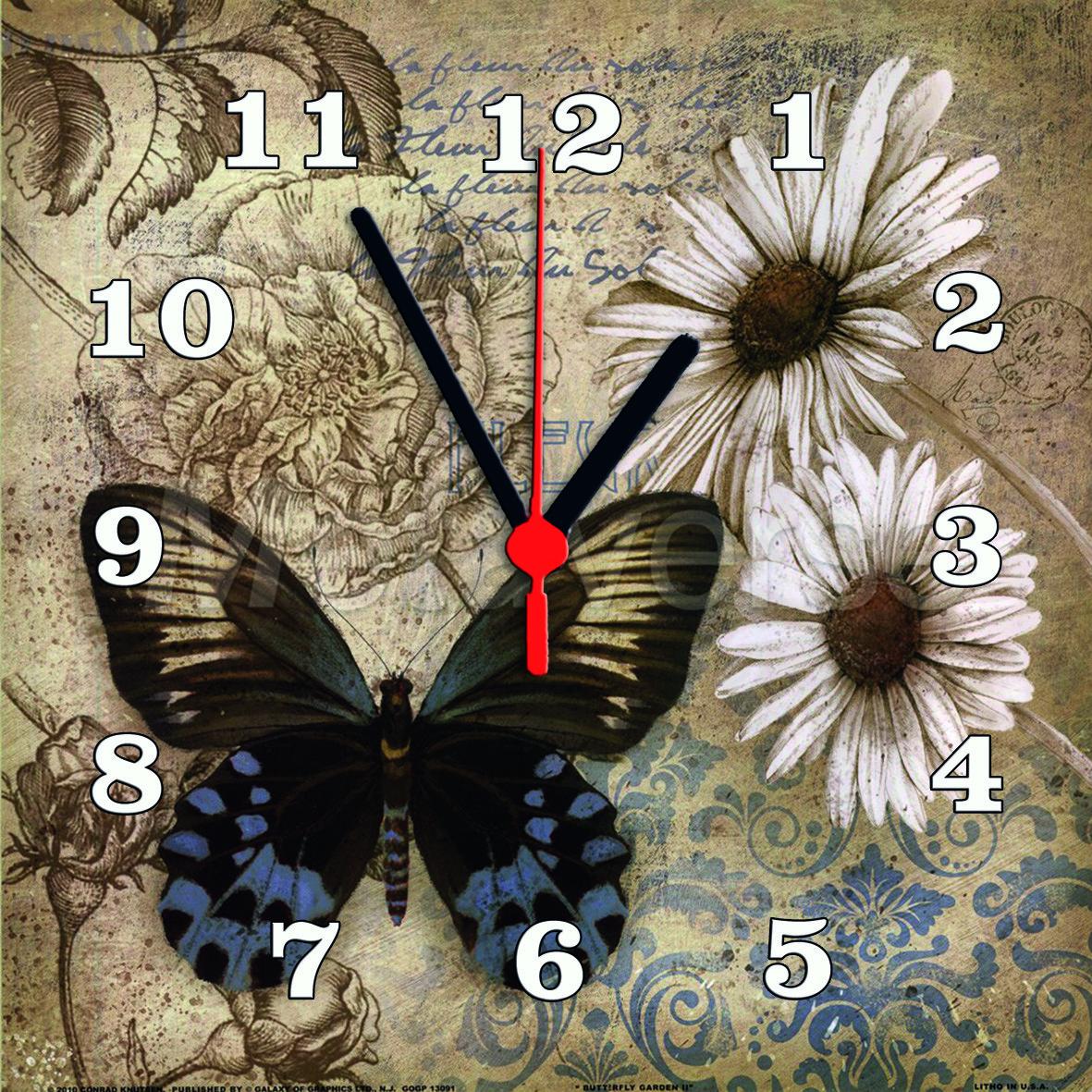 Часы настенные стеклянные Т-Ок 003 S-3010