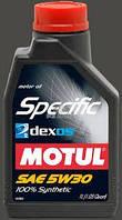 Моторное масло MOTUL Specific dexos2 SAE 5W30