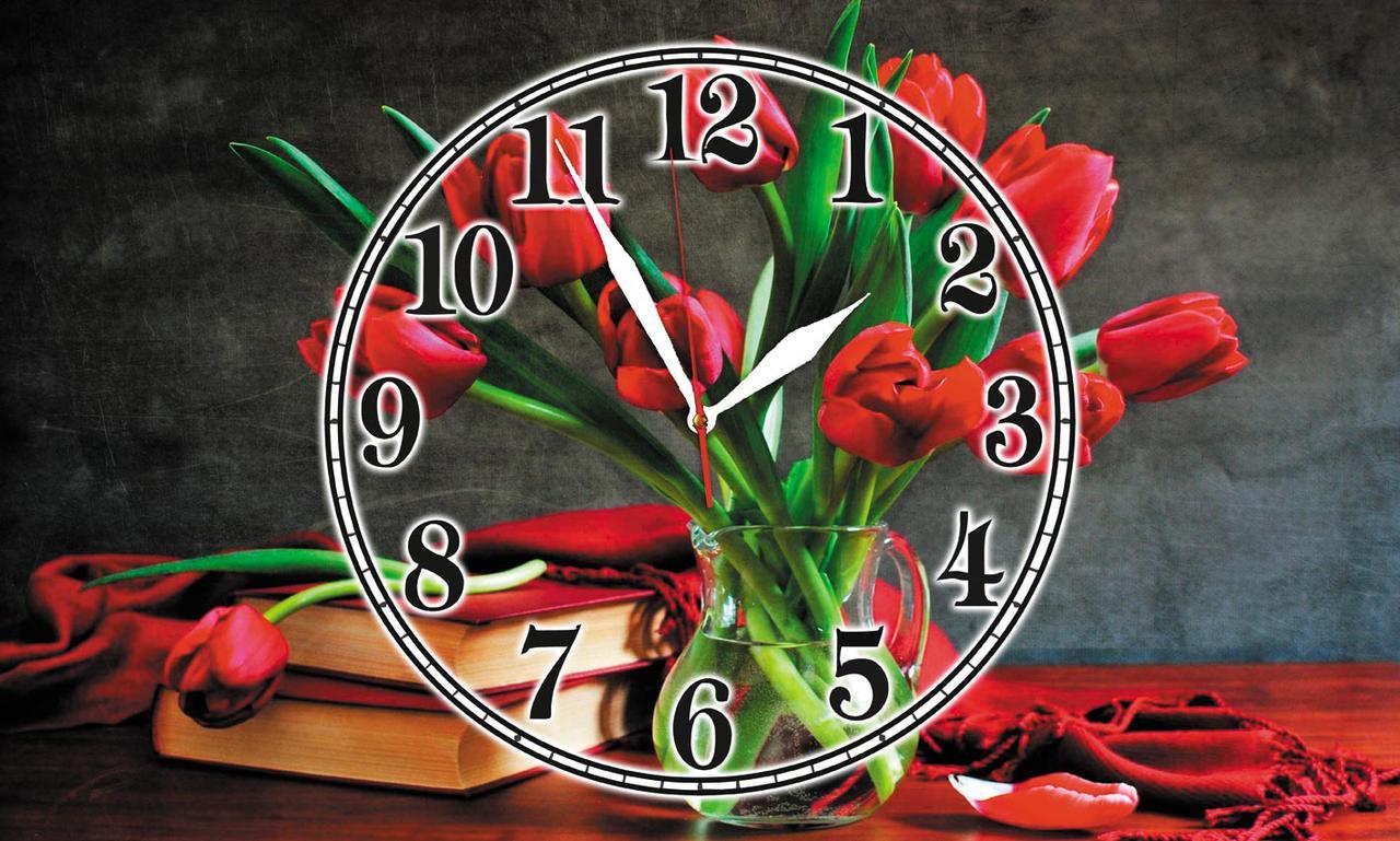 Годинники настінні скляні Т-Ок 008 SG-3005005