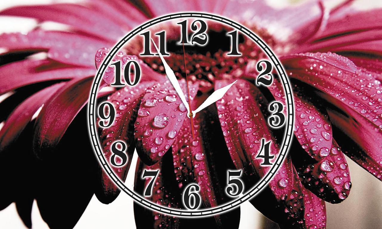 Часы настенные стеклянные Т-Ок 008 SG-3005006