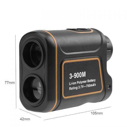 Лазерний далекомір спідометр SNDWAY SW-900A 3-900M 900м Orange