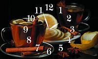Часы настенные стеклянные Т-Ок 008 SG-3005009