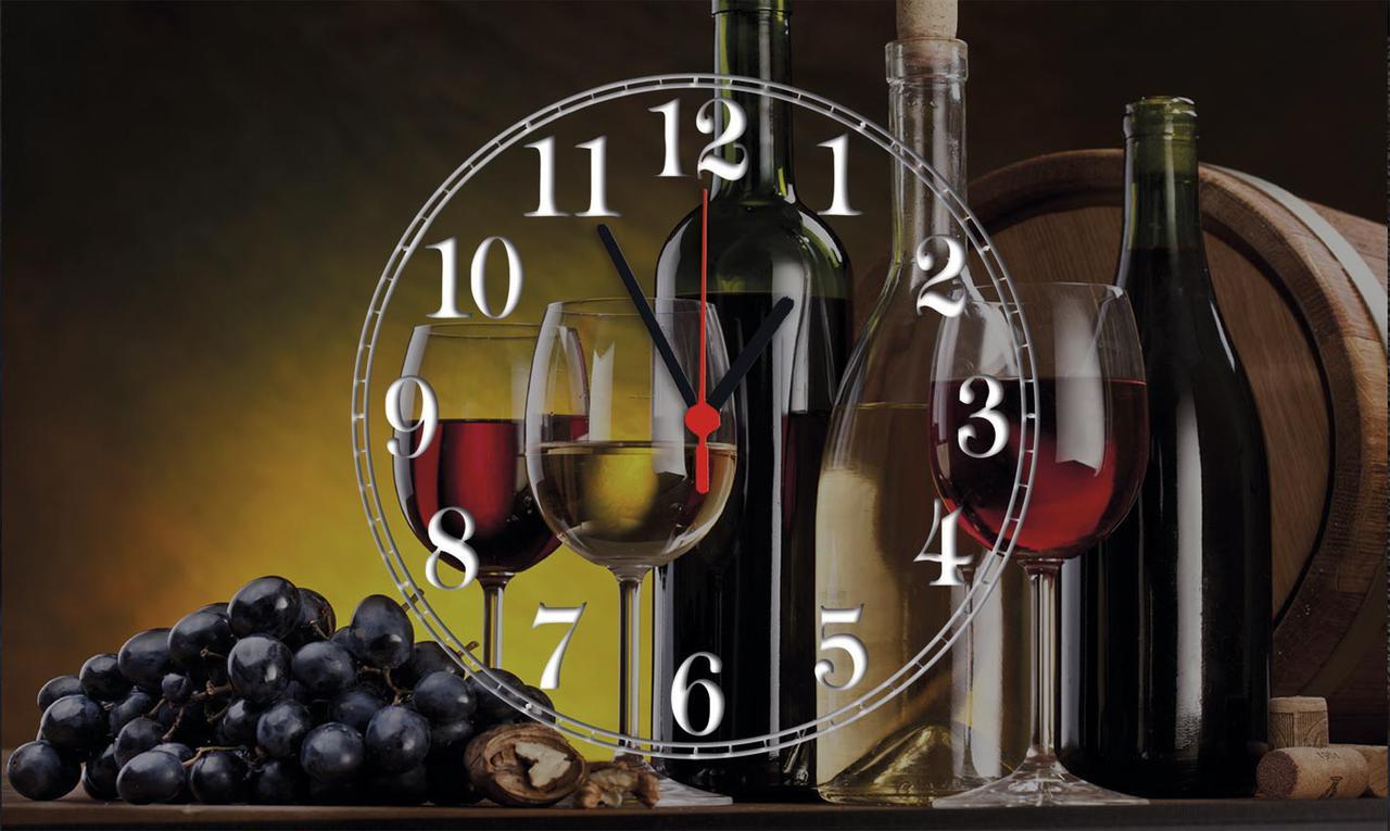 Часы настенные стеклянные Т-Ок 008 SG-30050014