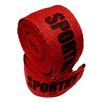 Бинти боксерські х\б, SportKo, Довжина 3м