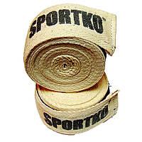 Бинти бокс х\б, SportKo, Довжина 4м.