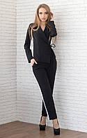 Женский пиджак с запахом арт 3767-430