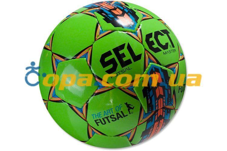 Мяч для футзала SELECT FUTSAL MASTER 852508(зел) Размер 4, фото 1