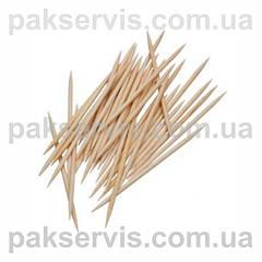 Зубочистки, бамбукові шпажки, прикраси для канапе