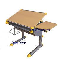Детский стол - парта KD-F1121, МДФ бук