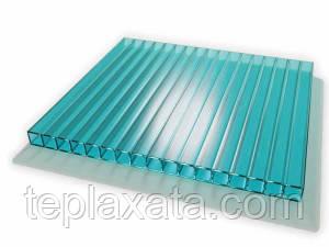 Стільниковий полікарбонат LIKE 6 мм (прозорий)