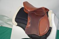 Седло для лошади выездковое 17,5C