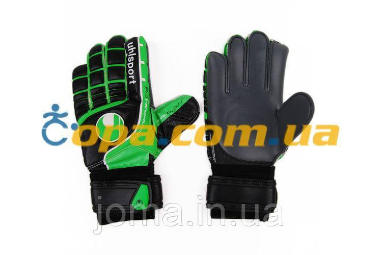 Вратарские перчатки Uhlsport FANGMASCHINE SOFT GRAPHIT 100033801