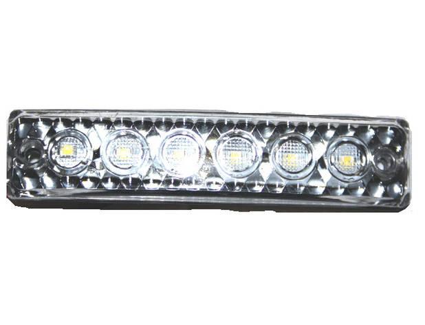 Габаритный фонарь Led 12/24 белого цвета/6754, фото 2