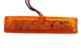 Габаритний ліхтар LED 12/24 вольта жовтий/5032