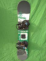 Сноуборд Atomic piq 140 см +  кріплення K2