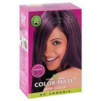 Натуральная краска для волос на основе хны Color Mate (тон 9.5, махагон) — без аммиака!