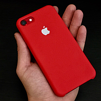 Чехол Apple Silicone Case на iPhone 7 КРАСНЫЙ