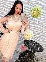 Платье из шифона. (471)