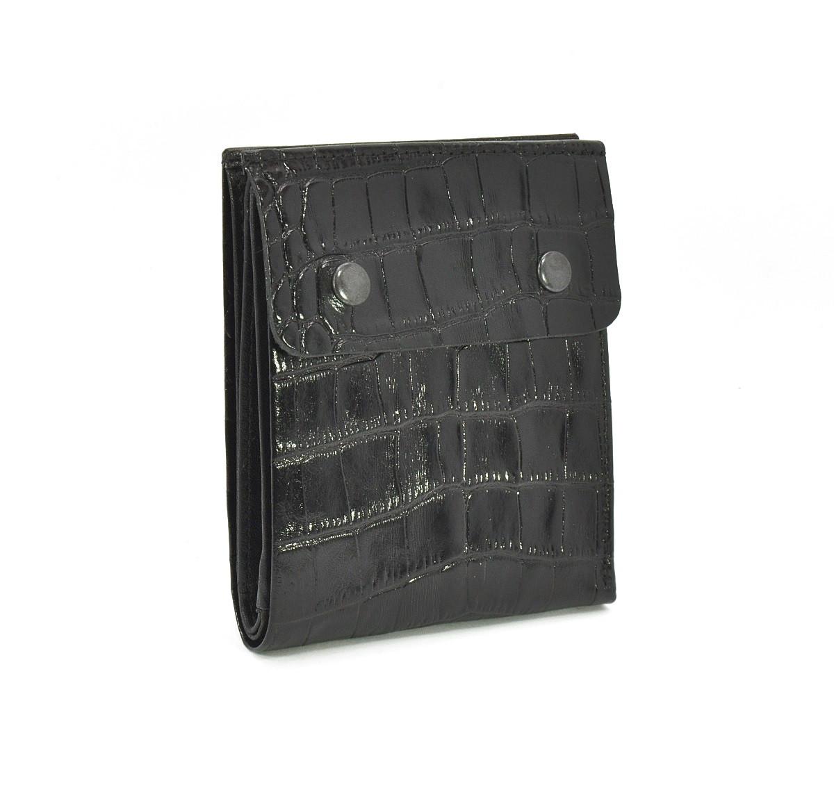 Кошелек мужской кожаный, карты черный Bond Non 514-356 Турция