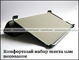 Черный чехол книжка Huawei Mediapad T3 7 3G, версия Bg2-U01, модель PU кожа, фото 7