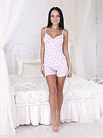 Пижама маечка с шортами очень хорошее качество стрейч хлопок