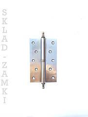Петля дверная Imperial 125 мм АВ с декором