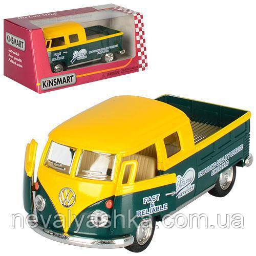 Kinsmart металлическая инерционная Кинсмарт Volkswagen Bus Delivery 1963 KT5396W 006713