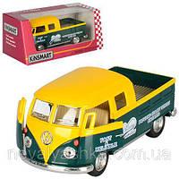 Kinsmart металлическая инерционная Кинсмарт Volkswagen Bus Delivery 1963 KT5396W 006713, фото 1