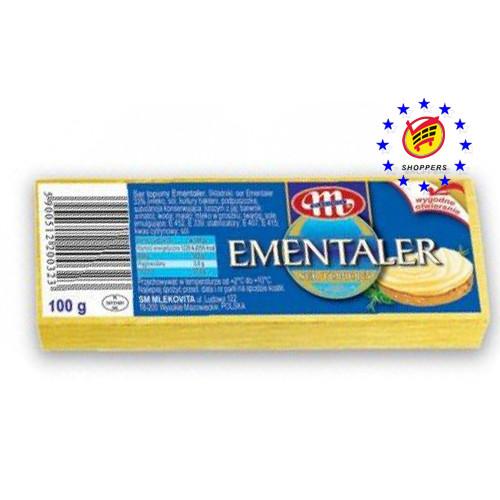 Сыр плавленый Mlekovita emmentaler 100г