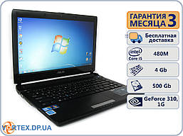 Ноутбук БУ Asus u36 13.3 (1366x768) / Intel Core I5-480M / GeForce 310, 1Gb / 4Gb / 500Gb/ АКБ 2 ч. / Сост. 9