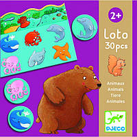 Игра детское лото Животные Djeco (DJ08120)