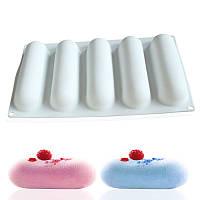 Силиконовая форма для десертов, ECLAIR, силикомарт (Silikomart), форма для муссовых тортов