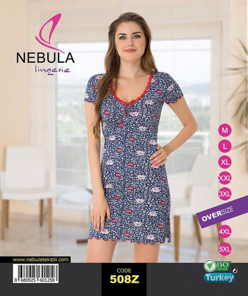 Нічна сорочка жіноча 508Z віскоза Nebula