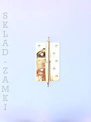 Петля для деревянных дверей Imperial 125 мм РВ с декором