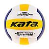 Волейбольный мяч для игры Kata MVA200PU, сине-белый-желтый