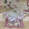 Коробка для пряников Печать Сердца с окном  150*150*30