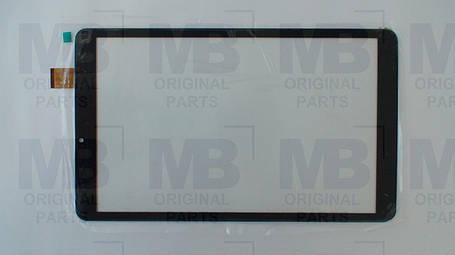 Сенсор (тачскрин) Nomi C10103 Ultra (Ultra+) чёрный , оригинал , фото 2